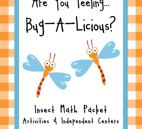 BUGS ON THE BRAIN – MATH PACKET + FREEBIE
