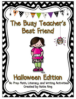 A BUSY TEACHER'S BEST FRIEND – HALLOWEEN STYLE