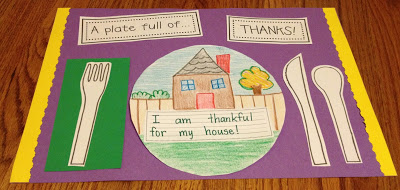 A PLATE FULL OF THANKS – CRAFTIVITY