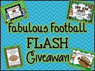 FABULOUS FOOTBALL FLASH GIVEAWAY + FREEBIE