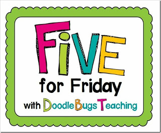 FIVE FOR FRIDAY – SPRING HAS SPRUNG!