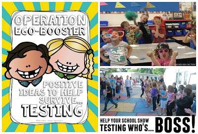 POSITIVE IDEAS TO HELP YOUR CAMPUS SURVIVE TESTING WEEK