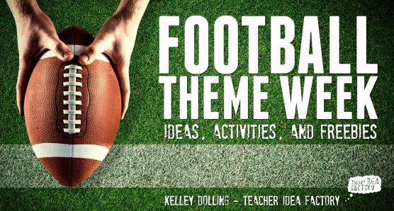 FOOTBALL THEME WEEK IMAGE