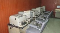 Telecoms room in the secret bunker