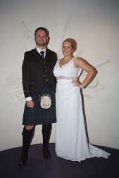 Dress with groom!