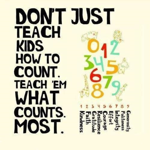 Teaching values in the classroom