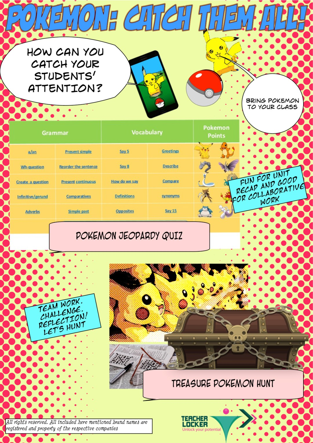 How to use pokemon go in the classroom