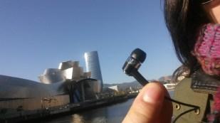 Amaia Garcia - Bilbao in Basque Country - Guggenheim museum