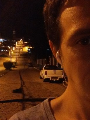 Charleston from Brazil - on the way to his girlfriend's house in the middle of the night