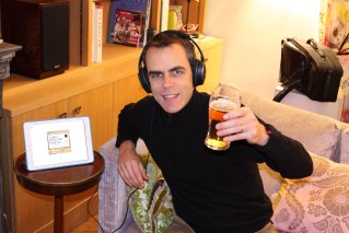 Eric in France - raising a glass to LEP