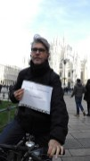 Guido in Milan - giving LEP some free publicity