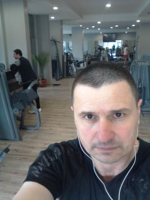 Ivan Irikov at the Gym