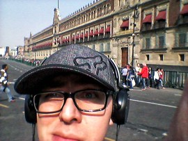 Jonatan Uriel Vidal Carmona in Mexico City