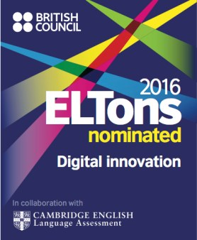 LEP has been nominated for an ELTon award!