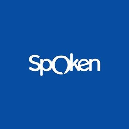 spoken_blue_background_white_text