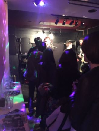 Queue of LEPsters after the Tokyo show