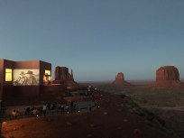 Screening of Fort Apache at Monument Valley