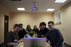Moscow LEPsters on Skype with Luke