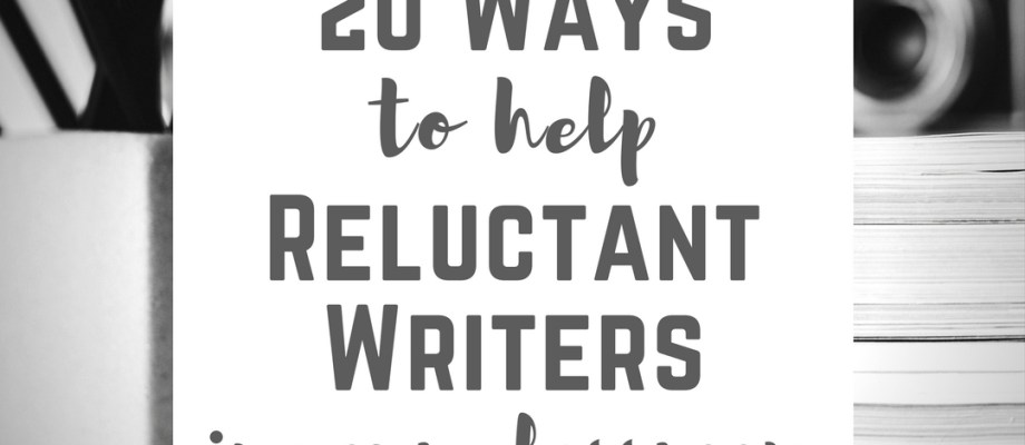 20 tips for structuring your classroom to be friendly to reluctant writers, as well as tips for trouble-shooting for writers who refuse to write