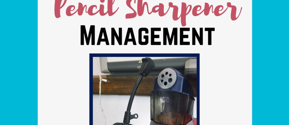 A brilliant idea for managing the pencil sharpener in the classroom. With a $5 remote outlet and a string of lights, you can keep your pencil sharpener on a remote control. Lights on? Ok (and possible) to use the sharpener! Lights off? Not a good time. It's a brilliant way to manage the sharpener AND remind students of when is an appropriate time to use it.