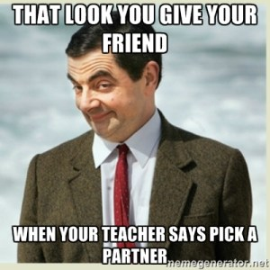 look you give friend