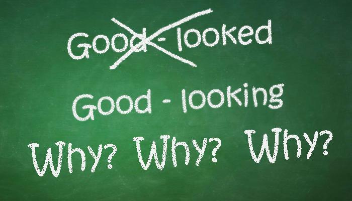 why goodlooking and not good-looked - English Grammar - esl efl teachers