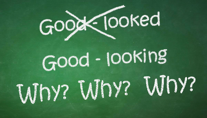 why goodlooking and not good-looked - English Grammar - esl efl teachers