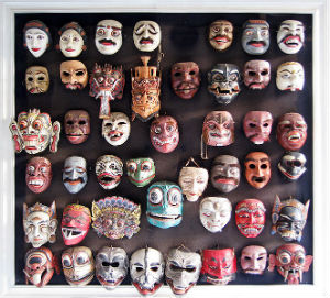 Theater Masks for Playwriting Lesson Plan