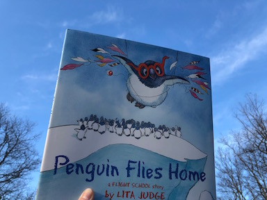 Penguin Flies Home by Lita Judge