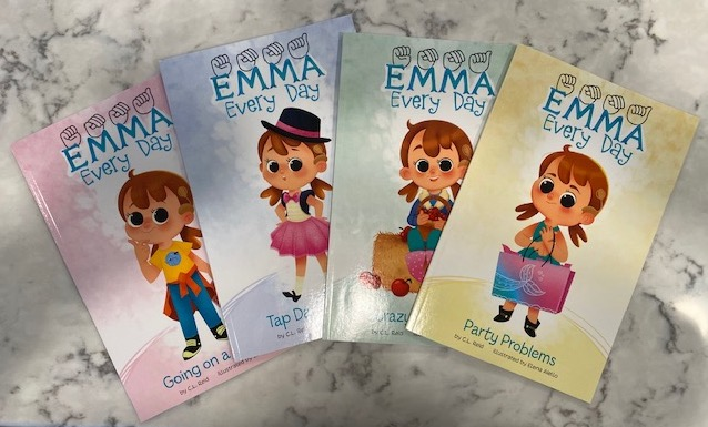 Emma Every Day series by C.L. Reid & illustrated by Elena Aiello