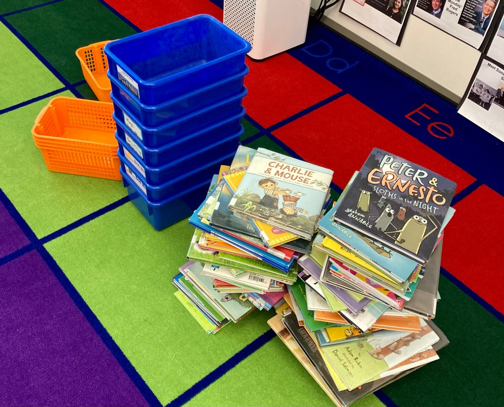 Look at all Those Books! Co-Constructing the Classroom Library