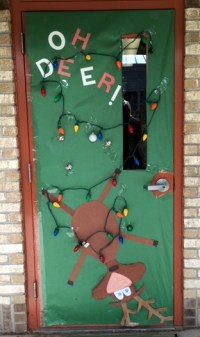 School Holiday Door Decorating Contest - Teacher's Brain Blog
