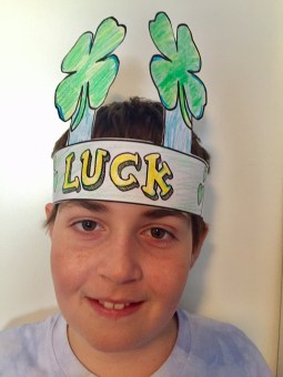 ST. Patricks day headband