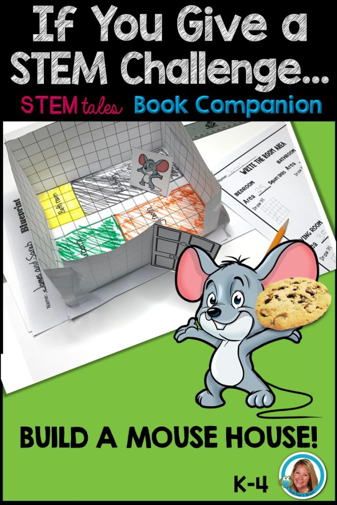 If You Give a Mouse a Cookie STEM STEM for Kindergarten