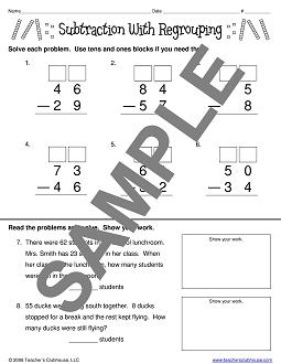 Math Resources from Teacher's Clubhouse