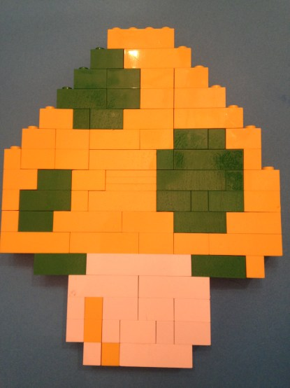Lego, mushroom, 1 up, Mario
