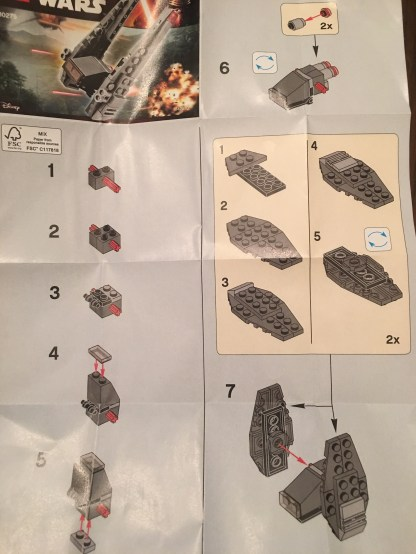 Directions For Kylo Ren's Command Shuttle