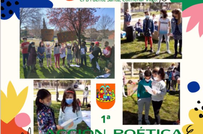 Acción poética, CPB Fuentesanta (Colmenar Viejo)