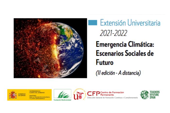 Curso » Emergencia Climática: Escenarios Sociales de Futuro» (II Edición)