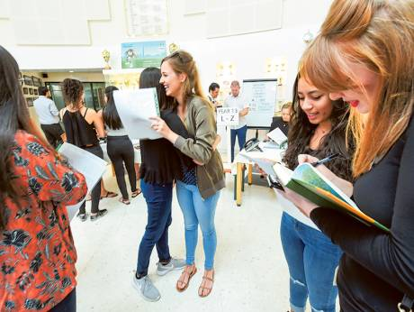 A-Level results