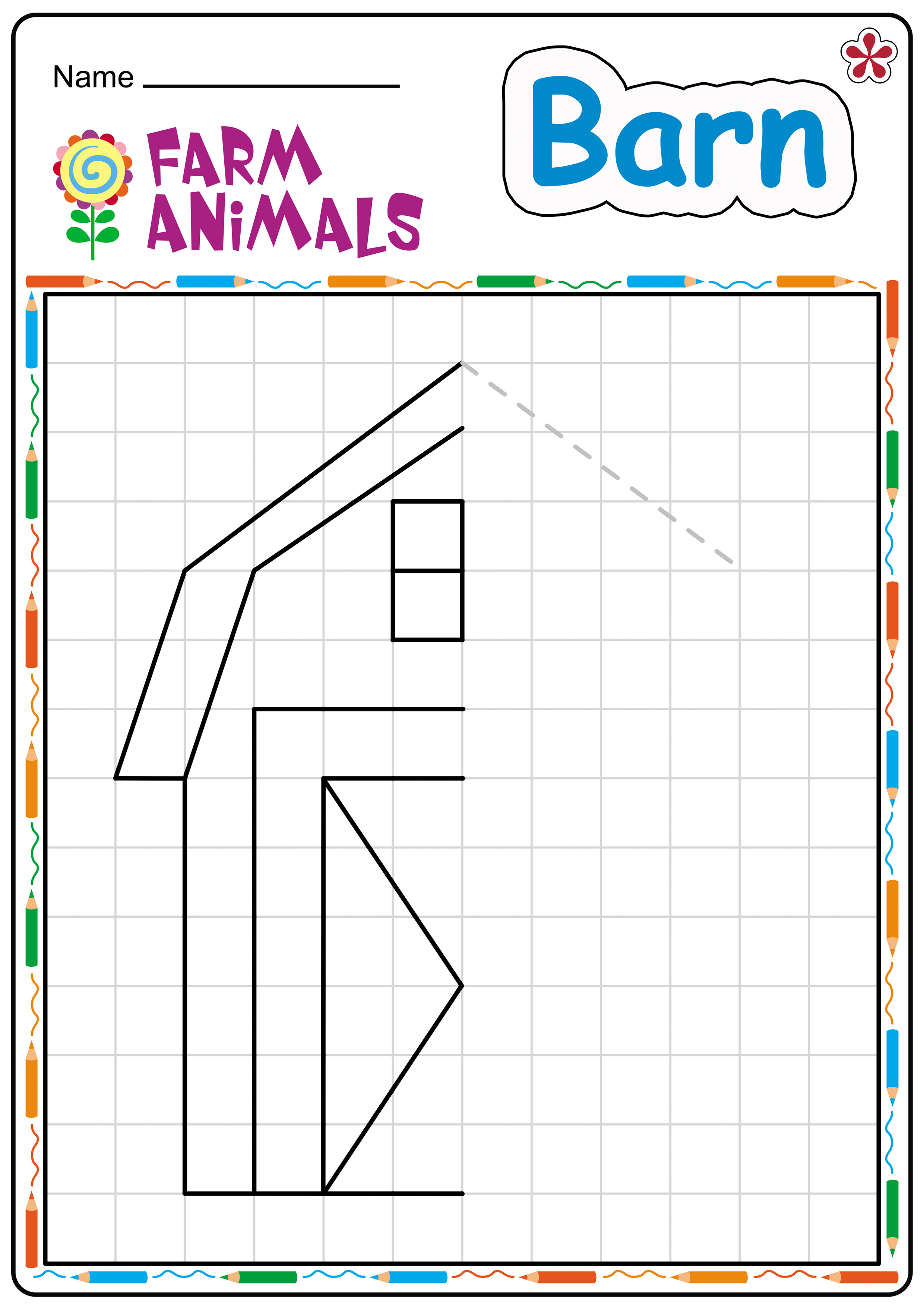 Free Printable Farm Animal Worksheets For Preschoolers