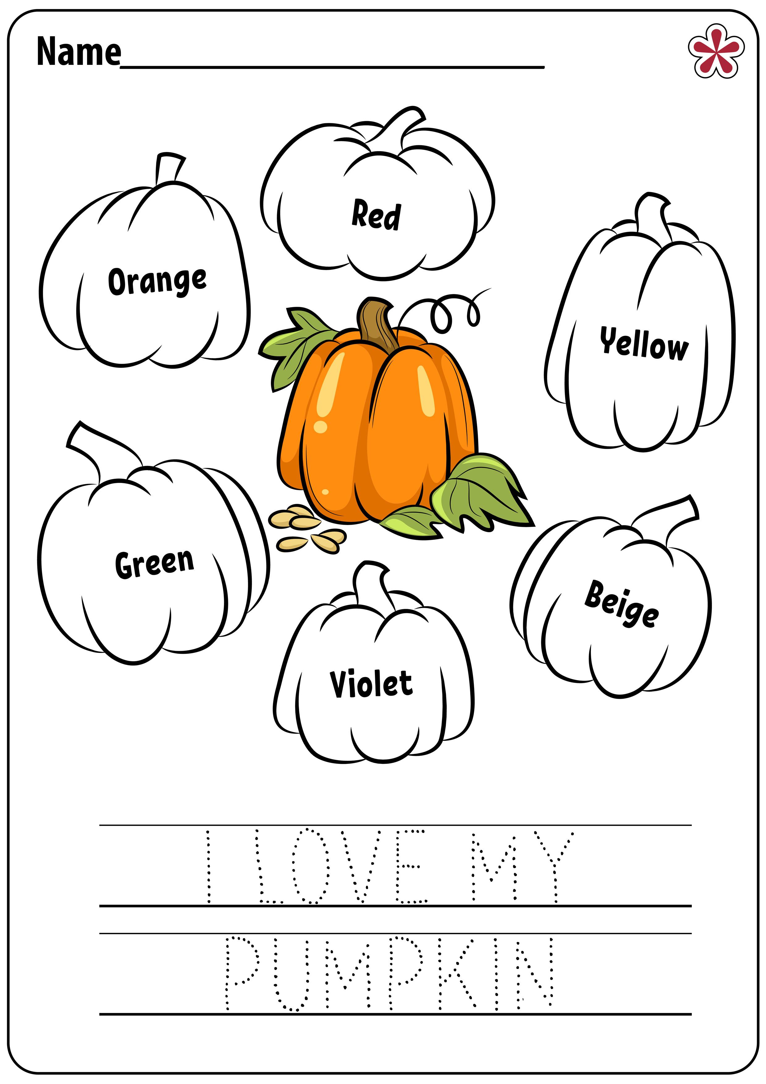 Free Pumpkin Worksheets