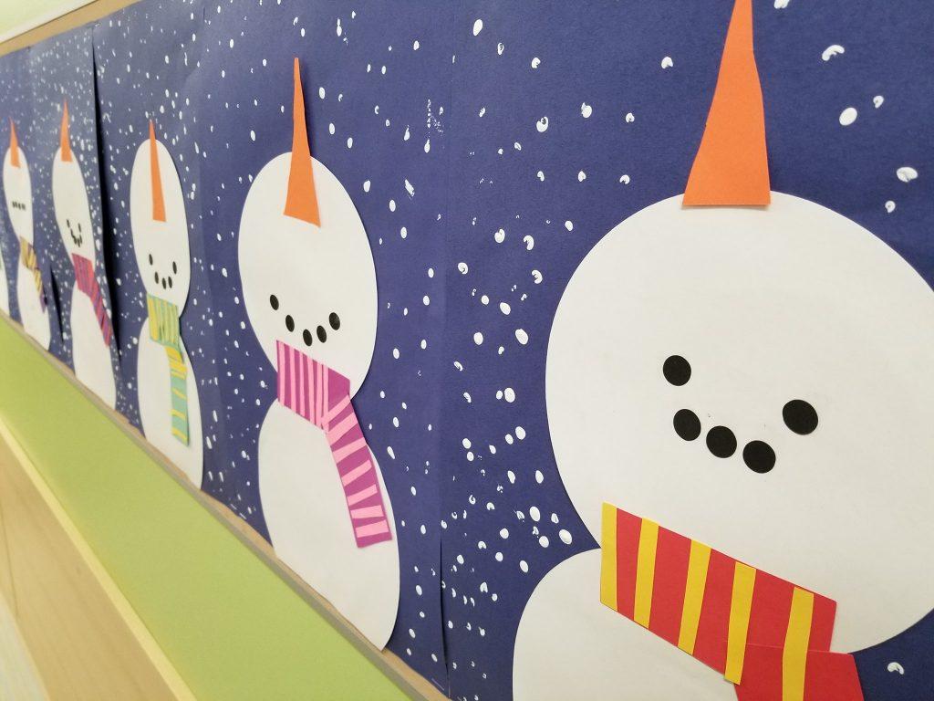 Snowman And Snowwoman Paper Craft Teachersmag