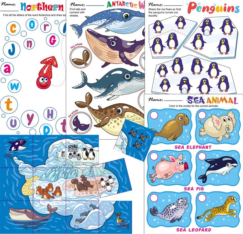 Wild Animals Theme Teachersmag