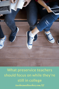 Preservice teachers have a unique task of cramming as much information and experience on pedagogy, classroom management, educational technology, and much more. Dr. Sam Fecich dives into what they should focus on so that they have a higher chance of success first year teacher   first year of teaching   teaching credential   beginning teacher   preservice teacher