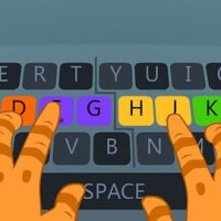 Touch typing activities