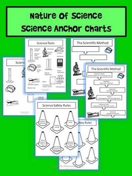 Nature of Science Anchor Charts