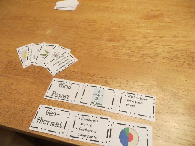 Alternative Energy Learning Game