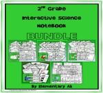 2nd grade interactive science notebook bundle