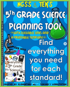 5th grade science ngss teks